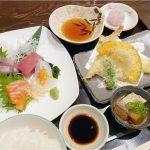 お造り天ぷらランチ復活|食べ処くろすけ