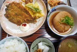 「まるごと黒川定食」が始まりました。黒川温泉 朝来市生野町
