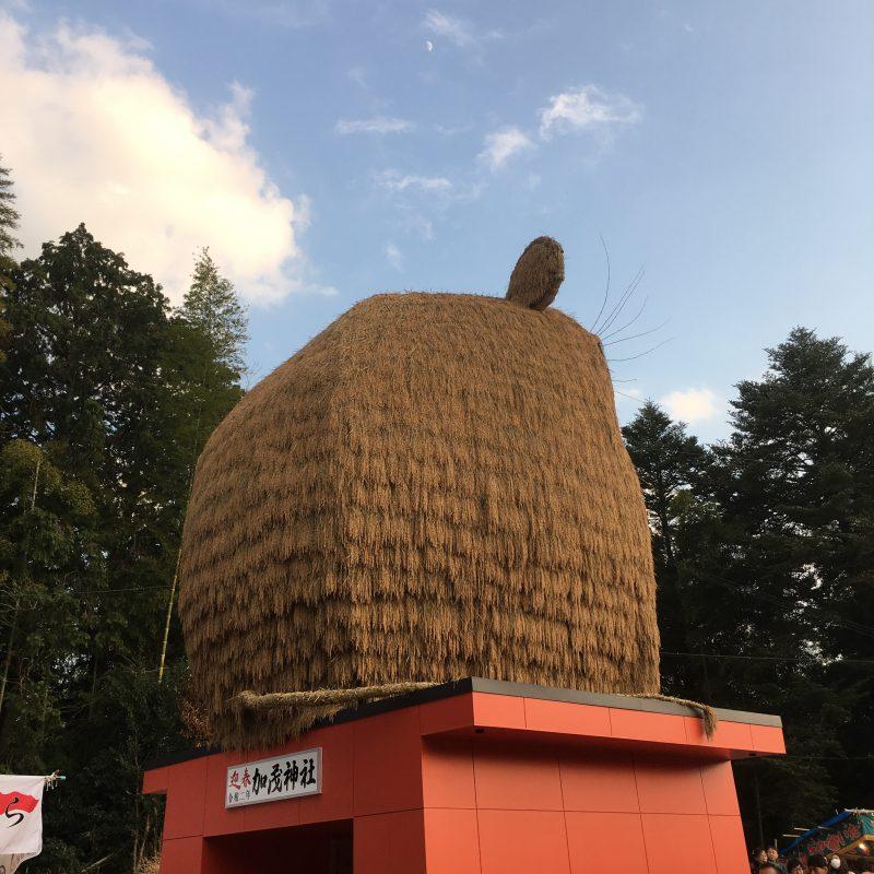 安志稲荷神社・加茂神社で初詣|姫路市安富町
