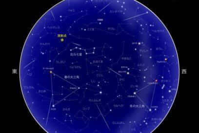 しぶんぎ座流星群が極大に。年始めの流星群を観察しよう