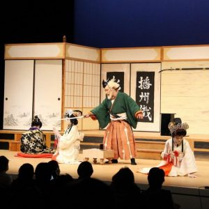 (開催されました)多可町播州歌舞伎クラブ新春公演「玉藻前旭袂三の切り〜道春館の段〜」