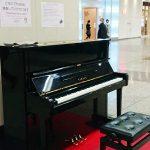 JR姫路駅のストリートピアノが常設に