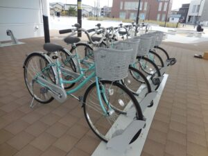 【福崎町】妖怪ベンチめぐりもOK。レンタサイクル無料貸出中|福崎町内をサイクリング