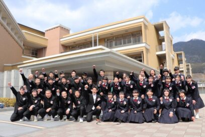 【神河町】神河中学校 第9回卒業証書授与式 103名が旅立ち