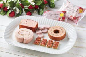 【ファミマ】紅茶と楽しむ『あまおう苺』を使った新作スイーツ5種類が新登場|Afternoon Tea監修
