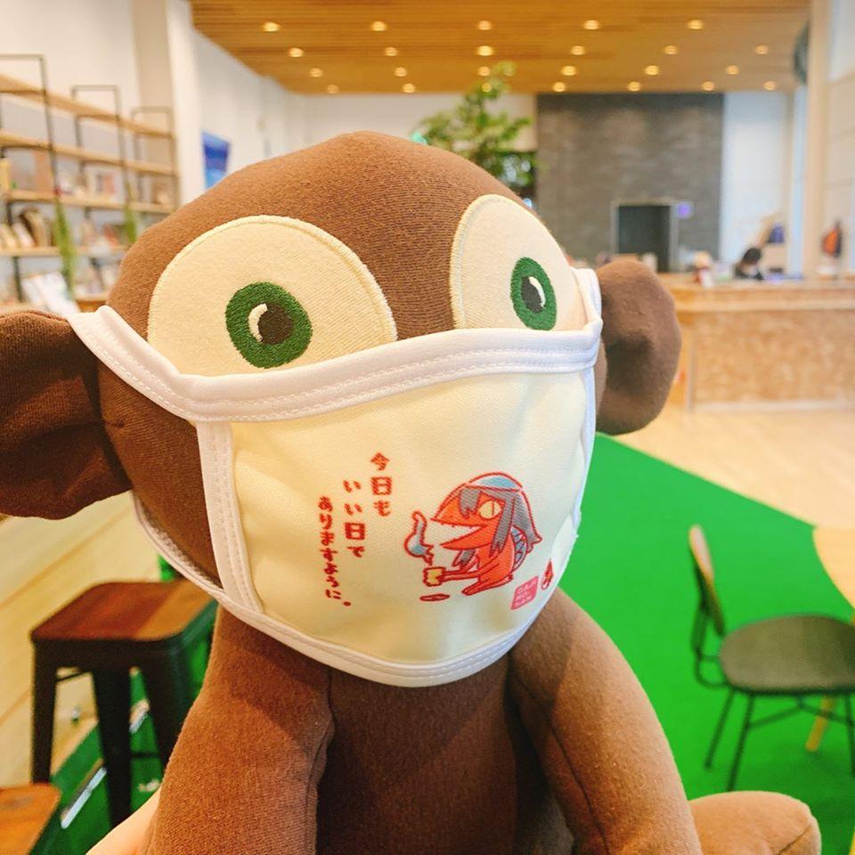【福崎町】河童のガジロウデザインの子供用のマスク