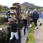 【神河町】新野の水車が設置されました