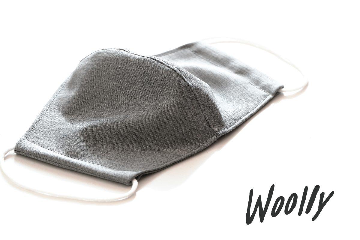 洗えるウールのメイドインジャパン布マスクを開発、販売|ウールの専門ブランド「Woolly/ウーリー」