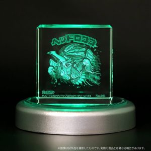 【なつい】ビックリマン| 幻の青火鳥「ヘッドロココⅡ」シリアルNo.入りクリスタルアート41個限定で販売
