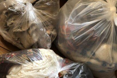 布・衣類を捨てるのは自粛して|中播北部クリーンセンター
