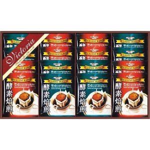 ビクトリアコーヒー 酵素焙煎ドリップコーヒーセット ND-200 7637-025