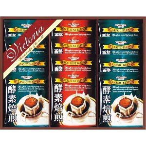 ビクトリアコーヒー 酵素焙煎ドリップコーヒーセット ND-150 7637-017