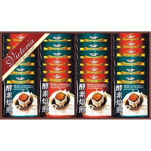 ビクトリアコーヒー 酵素焙煎ドリップコーヒーセット ND-300 7637-041
