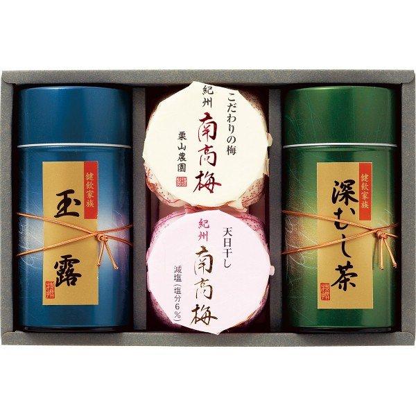 紀州南高梅・静岡銘茶詰合せ UMN-50 2908-098