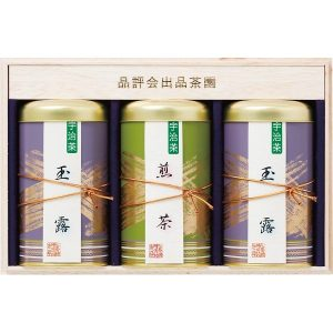 宇治銘茶詰合せ(木箱入) KOL-100 7646-091