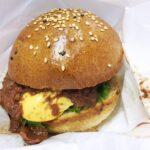 【福崎町】出張カカオマン。スイーツ屋さんの作るハンバーガーを試食してみる|むのじじょう