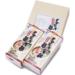【福崎町】もちむぎ半生麺:麺180g×4袋(8人前)めんつゆ付 M-20