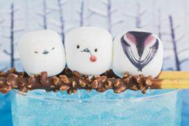 【フェリシモ】ちょこんとかわいい!シマエナガのたべられるアート|雪の妖精が食卓に舞い降りる