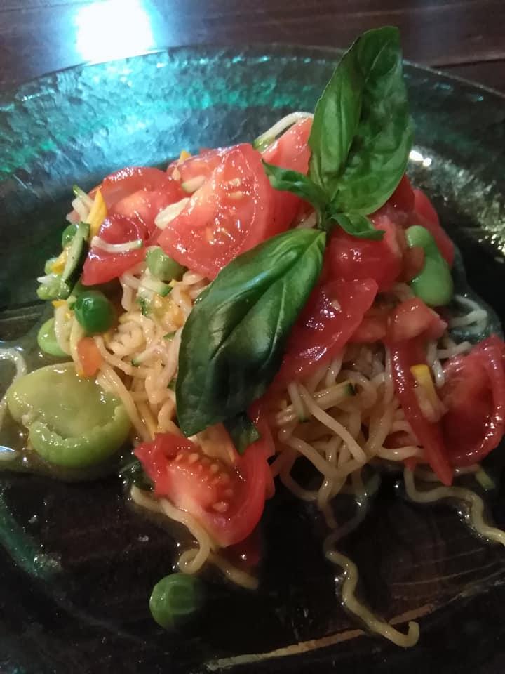 【神河町】らー麺八番、パスタ麺作りに挑戦。La mia casa ラ・ミア・カーサとコラボ