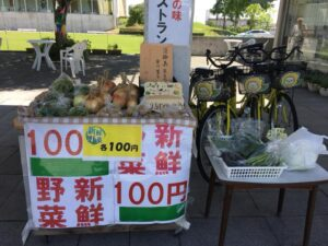 【市川町】野菜直売コーナーにたくさんの野菜が並びました|ひまりん観光案内所