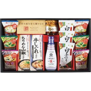 味香門和膳(みかどわぜん)アマノフーズ&キッコーマン和食詰合せ MKD-30 2712-044