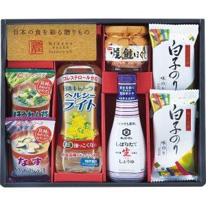 味香門和膳(みかどわぜん)アマノフーズ&キッコーマン和食詰合せ MKD-20 2712-028