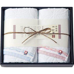 今治綿紗織 フェイスタオル2枚セット MOK-17200 2814-018
