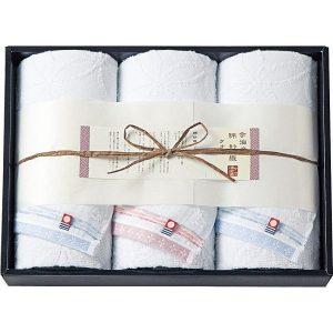 今治綿紗織 フェイスタオル3枚セット MOK-17300 2814-042