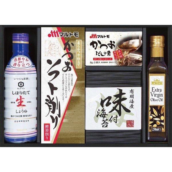 キッコーマン 生醤油&オリーブオイル詰合せ  KO-25T 2927-017