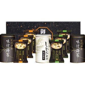 マルコメフリーズドライみそ汁&有明海産・しじみ醤油味付海苔 MA-25 2914-039