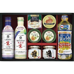 キッコーマン生しょうゆ&瓶詰・缶詰セット SC-50FW 2928-072