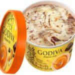 【GODIVA】ゴディバカップアイス「蜂蜜アーモンドとチョコレートソース」新登場|希少な「国産百花蜂蜜」を100%使用
