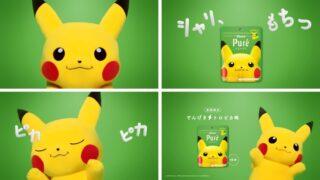 【ピカチュウ】カンロ「ピュレグミ でんげきトロピカ味」発売
