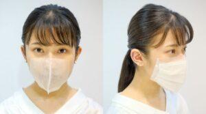【耳にかけないマスク】salone de mask(サロン・で・マスク)|理美容室・ヘアサロンの新型コロナ対策