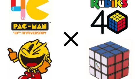 【40周年コラボ】パックマン×ルービックキューブ|ASOBINOTES ONLINE FES(アソビノオト)