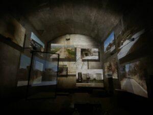 【加西市】鶉野飛行場跡「巨大防空壕 」内にシアター