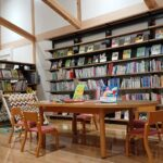【宍粟市】いちのぴあ図書室|天然木が気持ちいい落ちついた空間