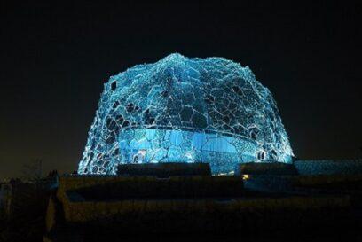 【六甲山】光のアート Lightscape in Rokko夏バージョン「夏は夜」 絶景を楽しむライトアップイベント