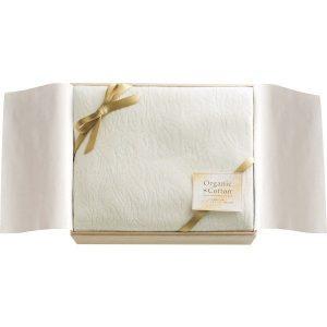 オーガニックコットン 綿毛布(国産木箱入) KOGC-25075 2845-061