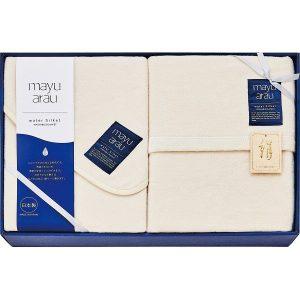 洗えるシルク混敷毛布&シルク混毛布(毛羽部分) WAS18250 2851-045