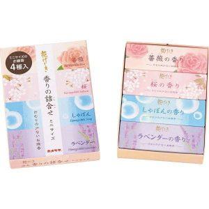 カメヤマ 花げしき 香りの詰合せミニサイズ I10420020 2948-014