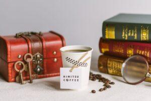 【HIMITSU COFFEE】世界一謎があるテーマパークに「秘密」と「謎」が味わえるコーヒーショップが登場