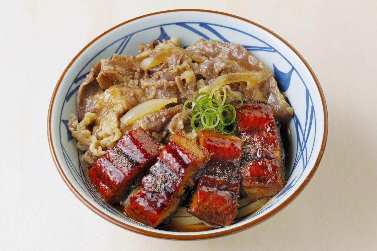 【丸亀製麺】牛とうなぎのぶっかけうどん|期間限定メニューが登場