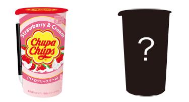 「チュッパチャプス」がドリンクに!|ストロベリークリームが発売