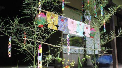 【姫路市】月遅れの七夕|日本玩具博物館