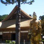 【朝来市】大明寺の萱葺(かやぶき)屋根が完成|生野町黒川