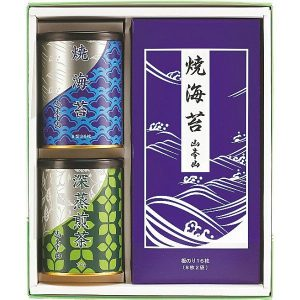 山本山 海苔・銘茶詰合せ YNT-403 2910-040