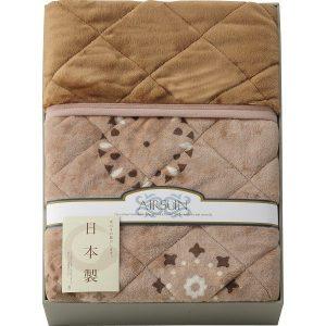 日本製 吸湿発熱わた入り やわらかタッチわた入り毛布ふとん KS-3085 2865-020