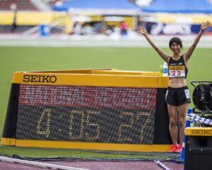 【小野市】田中希実選手が女子1500m日本新記録更新!3000mに続く自身2つ目