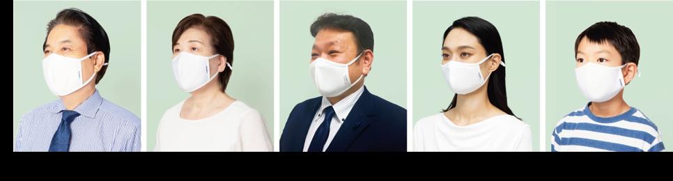【AOKI】アジャスター付き『ダブル抗菌・洗えるクールマスク』|事前抽選